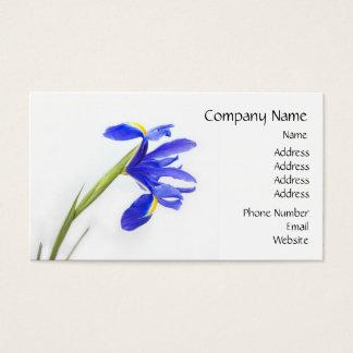 Tarjeta De Visita Flor púrpura del iris