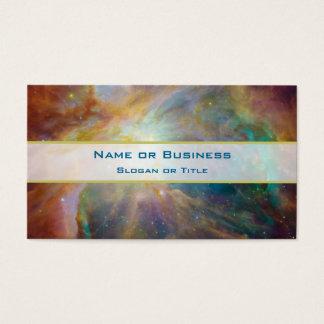 Tarjeta De Visita Foto de la astronomía de la nebulosa de Orión