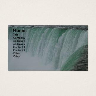 Tarjeta De Visita Foto de Niagara Falls