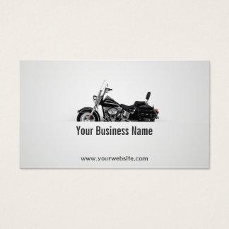 Tarjeta De Visita Funcionamiento de la motocicleta de la bici