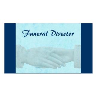 Tarjeta de visita fúnebre
