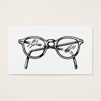 Tarjeta De Visita Gafas/lentes