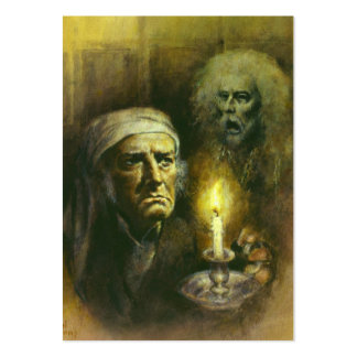 Tarjeta de visita gótica de Scrooge ACEO del