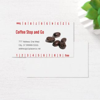 Tarjeta De Visita Granos de café