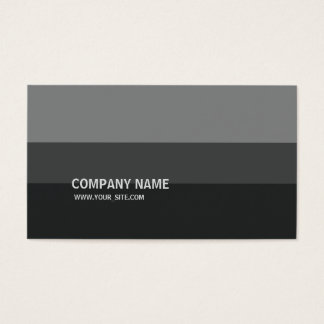 Tarjeta De Visita Graustufen Simples Modern Elegant Company