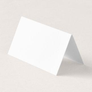 Tarjeta De Visita Haga su propio vertical doblada personalizado u