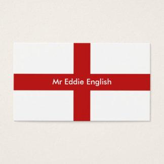 Tarjeta De Visita Inglaterra, Sr. Eddie english