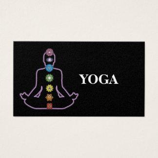 Tarjeta De Visita Instructor de la yoga