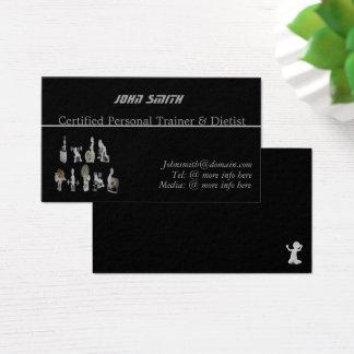 Tarjeta De Visita Instructor/tarjeta de visita personales de encargo