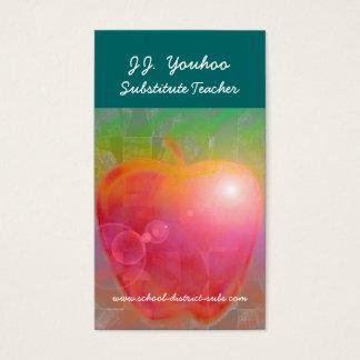 Tarjeta De Visita J.J. Profesor sustituto de Youhoo