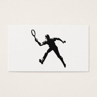 Tarjeta De Visita Jugador de tenis