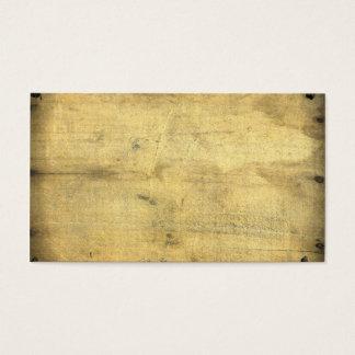 Tarjeta De Visita La madera envejecida vintage en blanco de moda