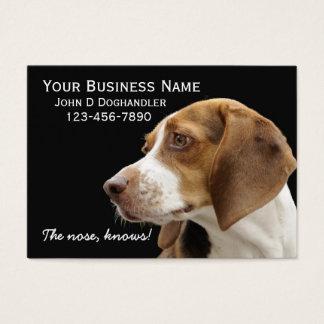 Tarjeta De Visita ¡La nariz!  Doghandler