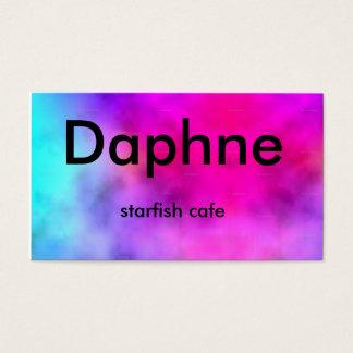 Tarjeta De Visita Large_tie-dye_highres, Daphne, café de las