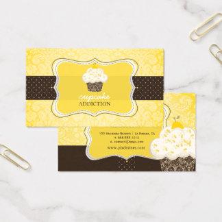 Tarjeta De Visita Magdalena/pâtisserie del ánimo de limón de
