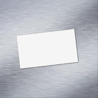 Tarjeta De Visita Magnética Blanco del fantasma