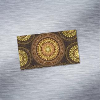 Tarjeta De Visita Magnética Círculos del fractal