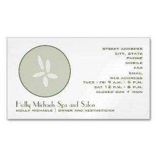 Tarjeta de visita magnética del pepino del tarjetas de visita magnéticas (paquete de 25)