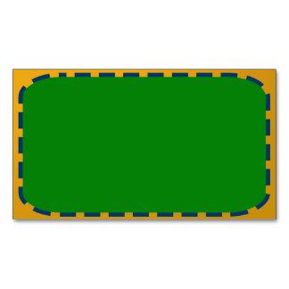 Tarjeta De Visita Magnética Plantilla de DIY + impresión en color vibrante de