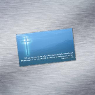 Tarjeta De Visita Magnética Salmo 121; 1-2
