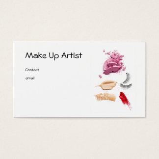 Tarjeta De Visita Make Up Artist