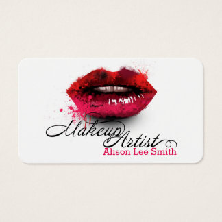 Tarjeta De Visita Makeup Artist