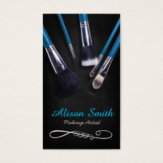 Tarjeta De Visita Makeup Artist brushes / Cosmetic Brushes