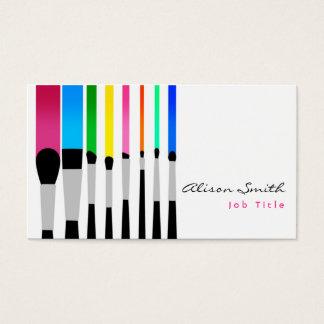 Tarjeta De Visita Makeup artist Business card