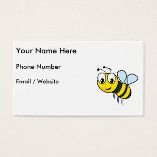 Tarjeta De Visita Manosee la abeja, zumbido
