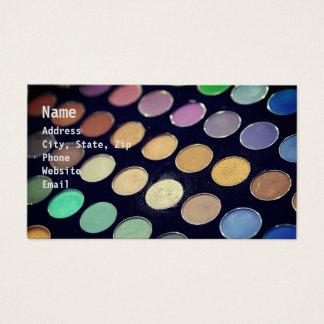Tarjeta De Visita maquillaje Circles2
