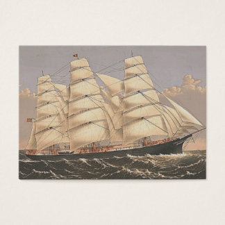 Tarjeta De Visita Mares SUPERIORES de la navegación
