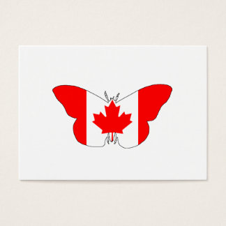 Tarjeta De Visita Mariposa Canadá