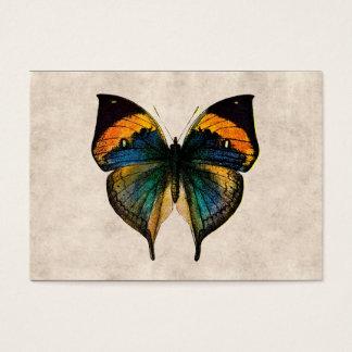 Tarjeta De Visita Mariposas del ilustracion 1800's de la mariposa