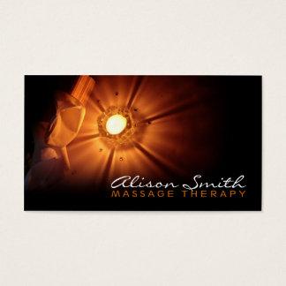 Tarjeta De Visita Massage Therapy Business card