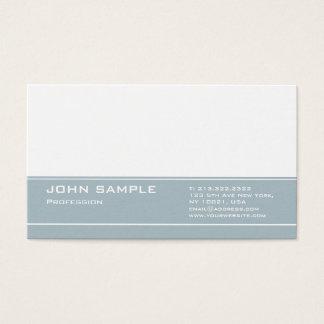 Tarjeta De Visita Mate elegante moderno profesional del diseño