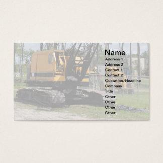 Tarjeta De Visita material de construcción resistente