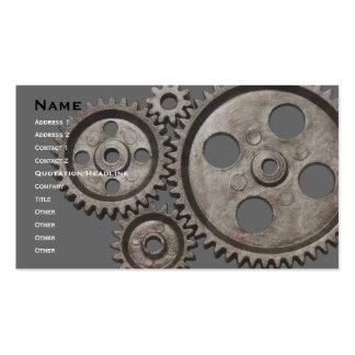 tarjeta de visita mecánica
