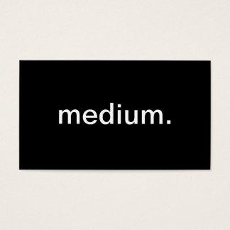 Tarjeta De Visita Medio