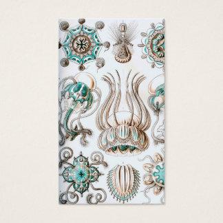 Tarjeta De Visita ¡Medusas de Ernst Haeckel Narcomedusae!