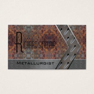 Tarjeta De Visita Metalurgia Style1