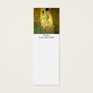 Tarjeta De Visita Mini El beso por la señal de Gustavo Klimt
