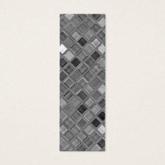 Tarjeta De Visita Mini Mini señales de la impresión de cristal de la teja