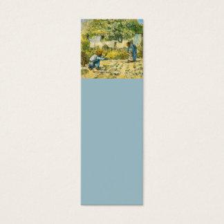 Tarjeta De Visita Mini Primeros pasos de Vincent van Gogh 1890