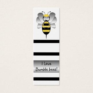 Tarjeta De Visita Mini Robobee manosea la señal de la abeja