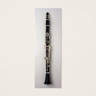 Tarjeta De Visita Mini Señal del Clarinet