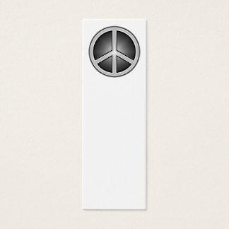 Tarjeta De Visita Mini Señal del signo de la paz