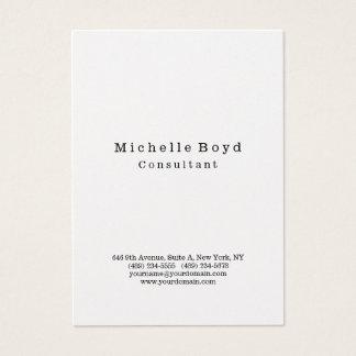 Tarjeta De Visita Minimalist moderno elegante profesional original