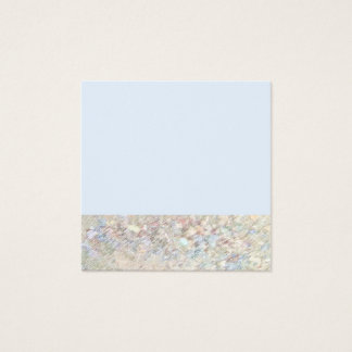 Tarjeta de visita minimalista de la primavera