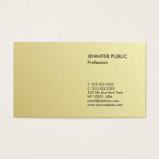 Tarjeta De Visita Mirada elegante profesional moderna minimalista