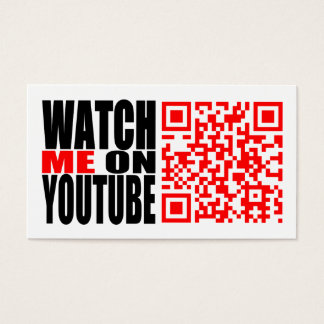 Tarjeta De Visita Míreme en YouTube (moderno)